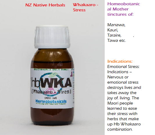 NZ NAtive herbals - Whakaaro - Stress