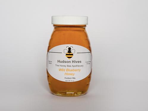 Wild Blueberry Raw Honey