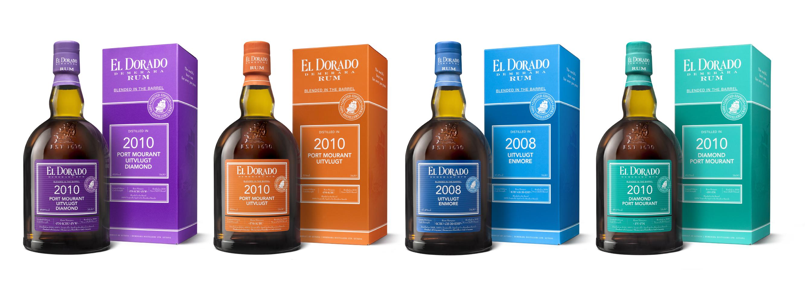 El Dorado flessen met verpakking