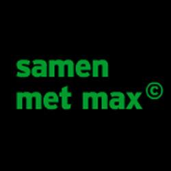 samen met max