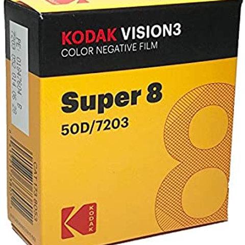Kodak Vision 50D con sviluppo compreso