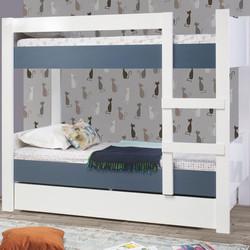 ASYA BUNK BED IN DARK BLUE