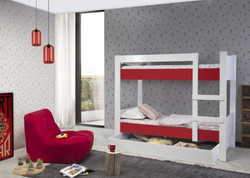ASYA BUNK BED RED