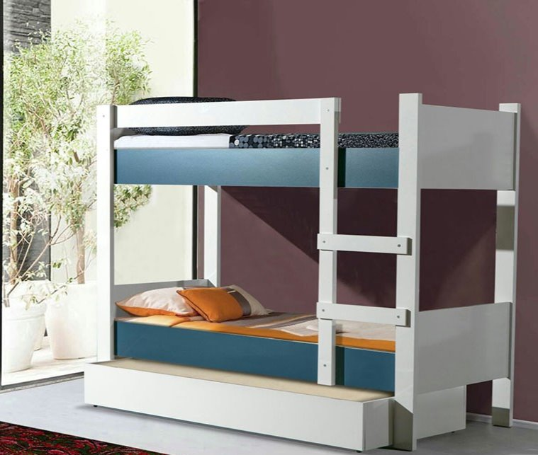 ASYA BUNK BED DARK BLUE