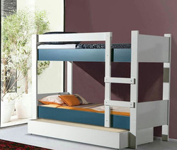 ASYA BUNK BED DARK BLUE
