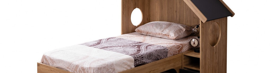 SULTAN BED WİTH DRAWER AND A SMALL SHELVE THE LEFT SIDE