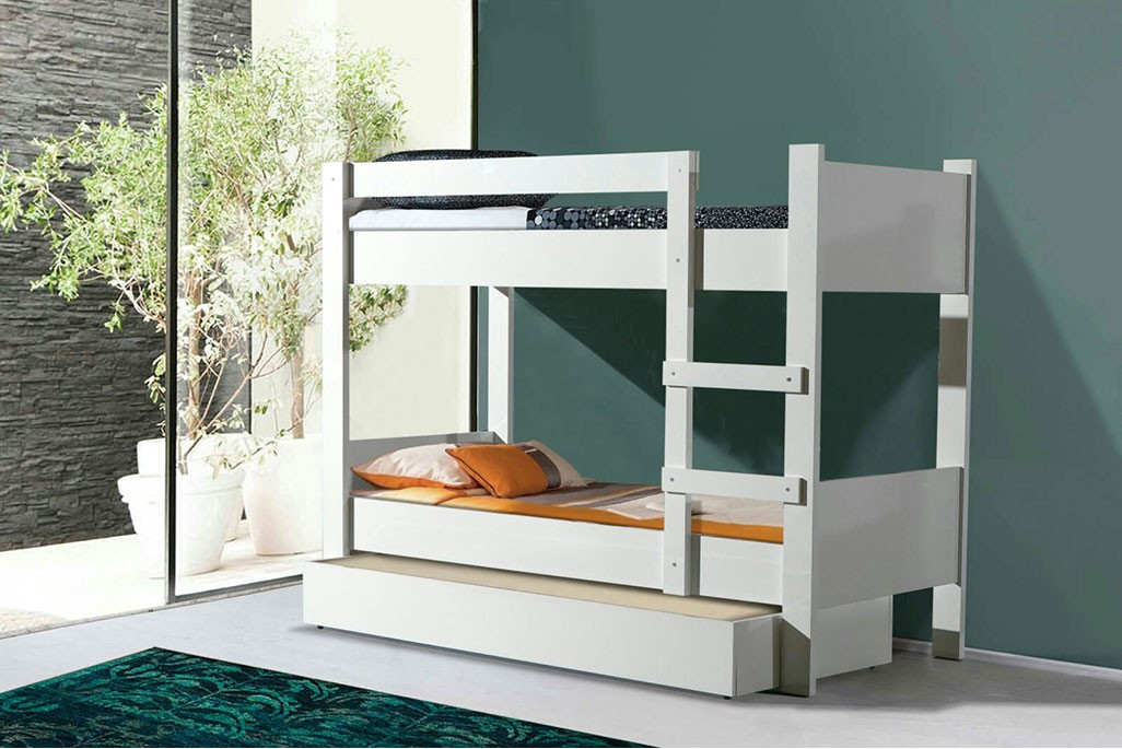 ASYA BUNK BED IN WHITE