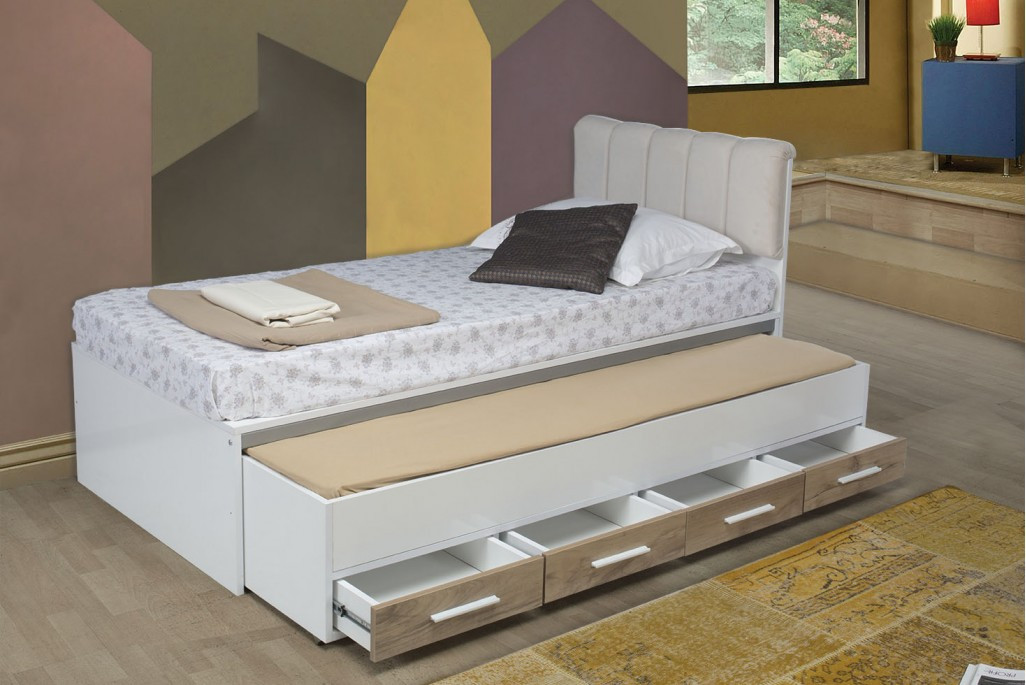 FLORA BED WITH UNDERBED AND 4 DRAWERS