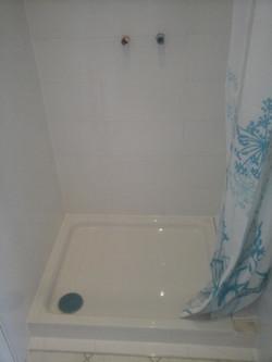 Badezimmer Duschkabine Weiß