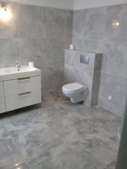 Badezimmer Anthrazit