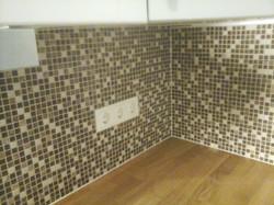 Küchenwand Mosaik