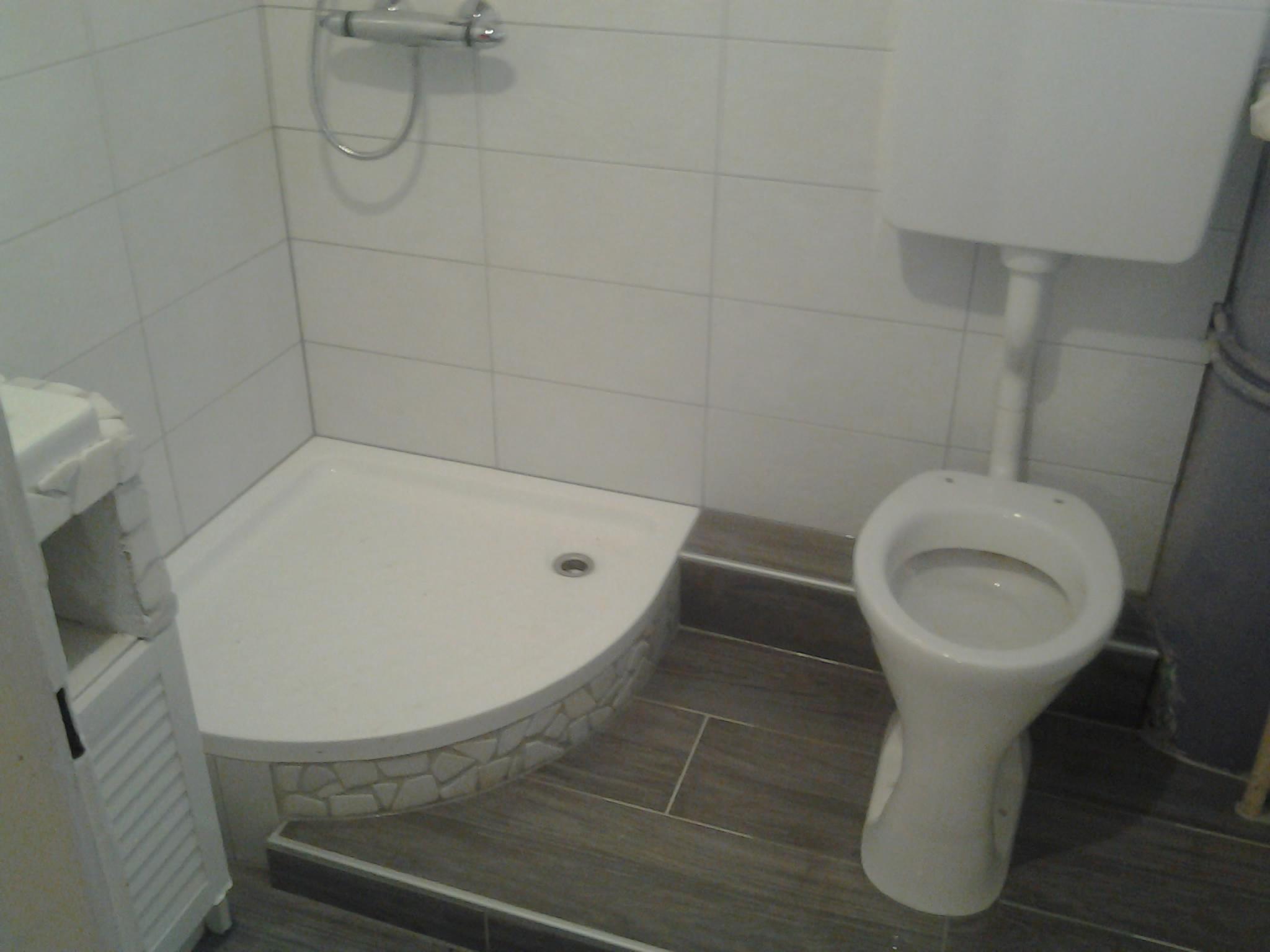 Standard WC mit Spülkasten