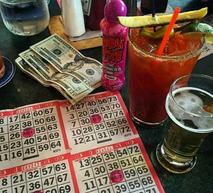 Bingo every Thurs and Sun