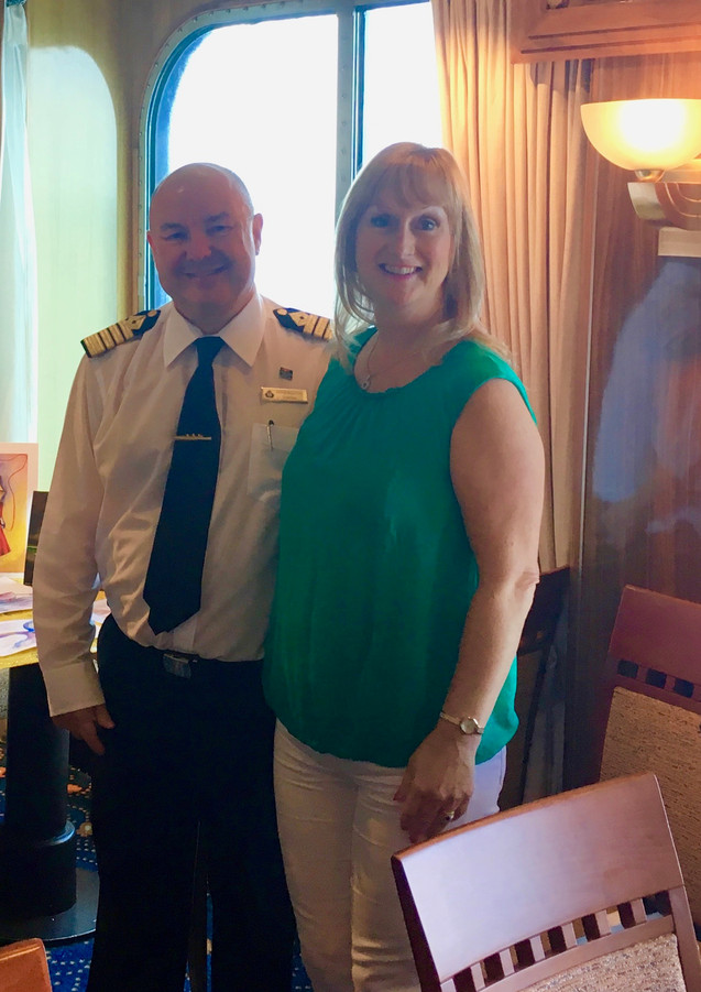 Captain Peter Philpott & Dawn-Marie