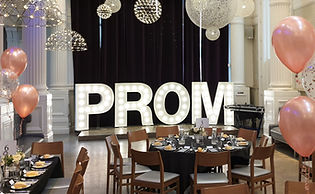 5ft PROM light letters setup for a school prom in The Corinthian, Glasgow. prom light letters, gradution lette lights, Prom lights Glasgow, Prom lights Edinburgh, Prom lights Stirling, Prom lights Ayr