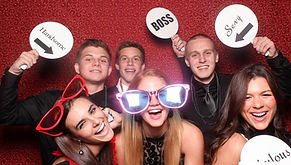 Photobooth hire across Scotland. Prom hire, light letters, dancefloor hire, event hire, 5ft light up letters, marquee letter lights, Prom hire Glasgow, Edinburgh, Ayr, Stirling.