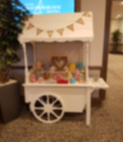 Wedding Candy Cart Waterside Hotel Scotland Victorian Sweet Cart Hire Big Bright Letters