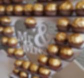Candy Cart Glasgow Edinburgh Big Bright Letter Ferrero Roche Heart Victorian Sweet Cart Scotland Hire