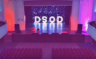 5ft DSOD letter lights, event hire Scotland. letter lights forhire across Scotland for weddings, evens, birthdays, anniversaries, danceshows. LED Dancefloor hire Scotland.