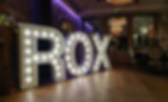 5ft ROX light letters etup i 29, Glasgow for the chistmas