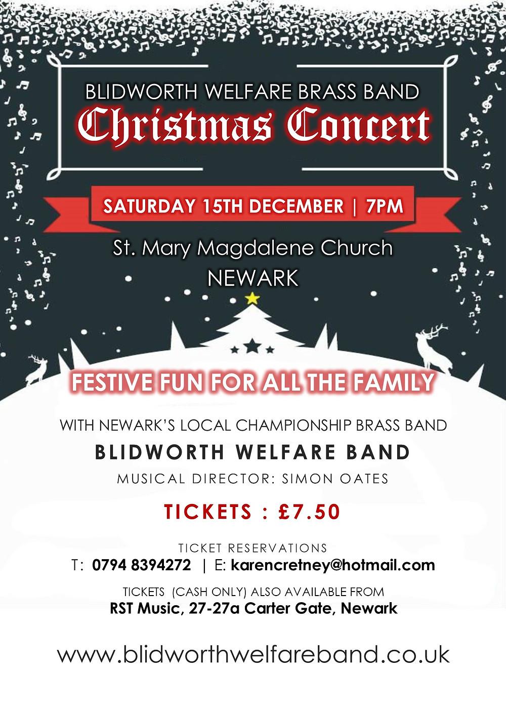 Christmas Concert in Newark