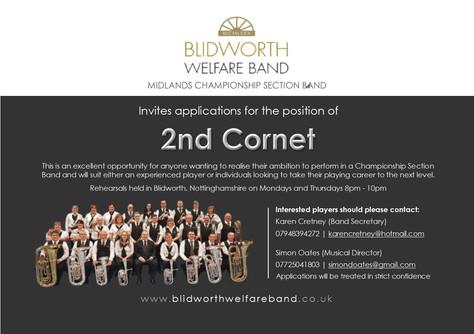 2nd Cornet Vacancy