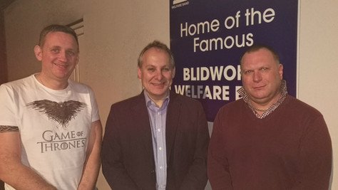Trio of Talent joins Blidworth for Midlands Area