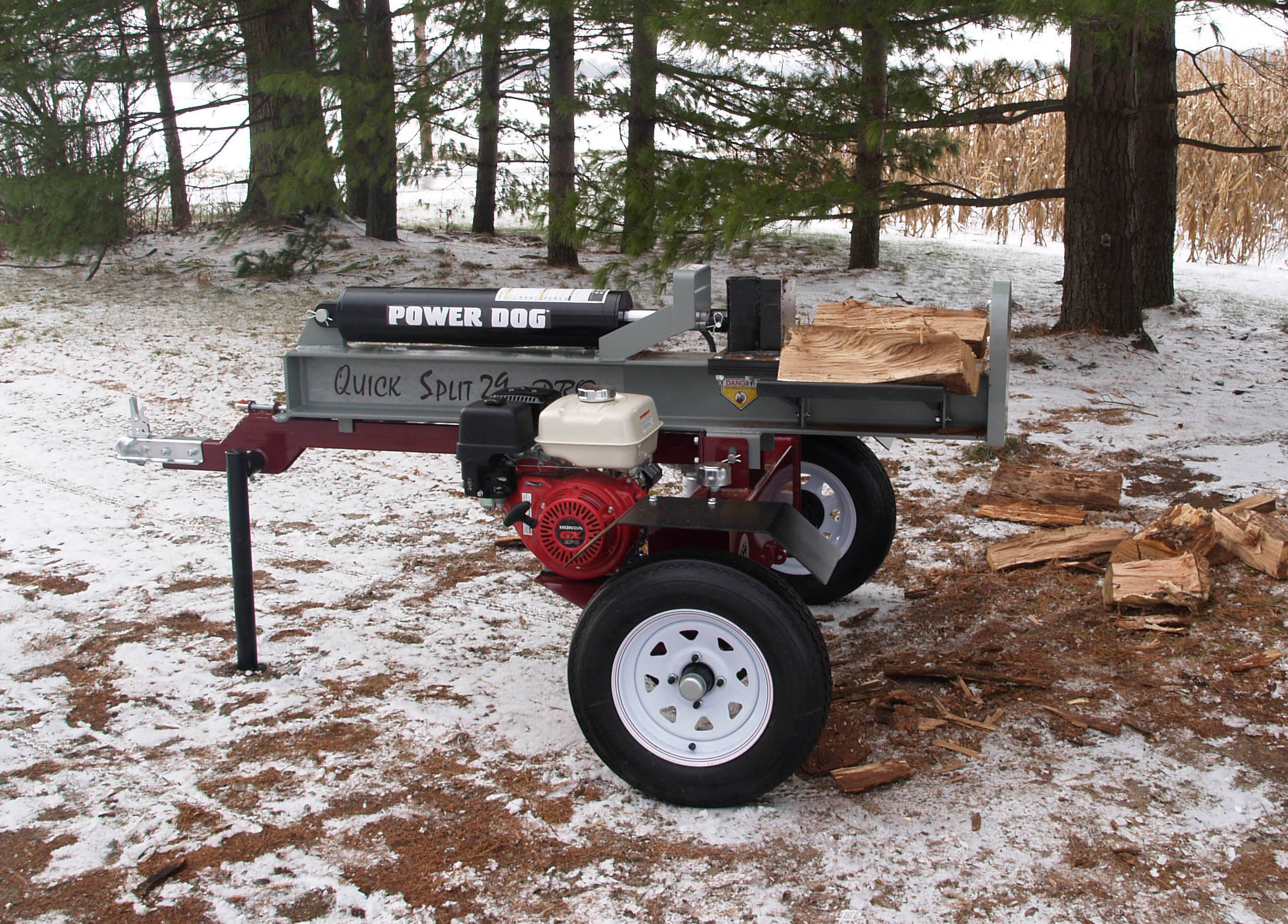 Kuhns Log Splitter