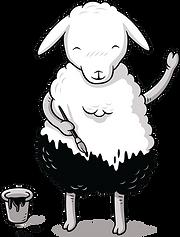 Painting Sheep