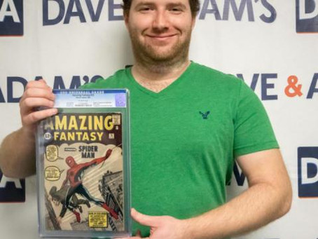 Amazing Fantasy #15 Swings into Get Cash for Comics