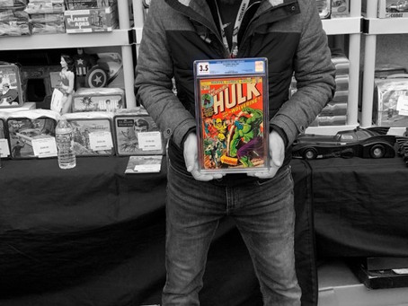 Even the Toy and Video Game Buyer can buy comics!
