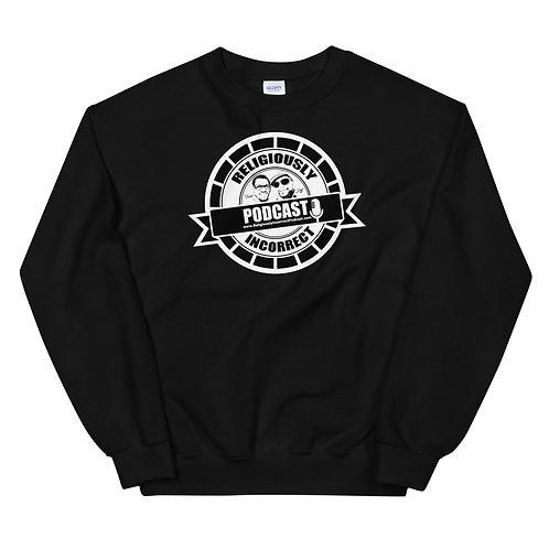 Religiously Incorrect Podcast Branded Unisex Sweatshirt