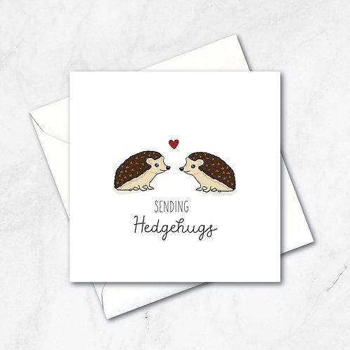 Sending Hedgehugs