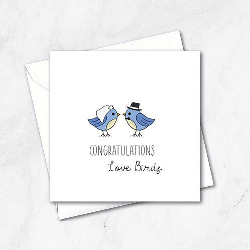 Congratulations Love Birds