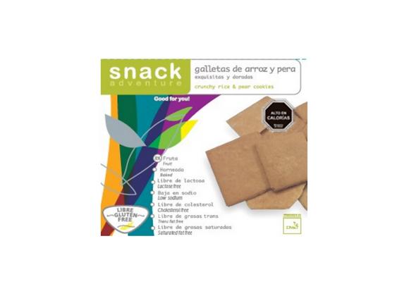 Snack Adventure - Galetas de arroz y pera