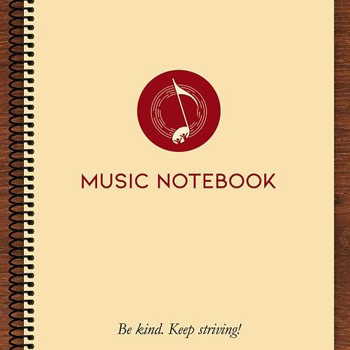 Music Notebook (A4)
