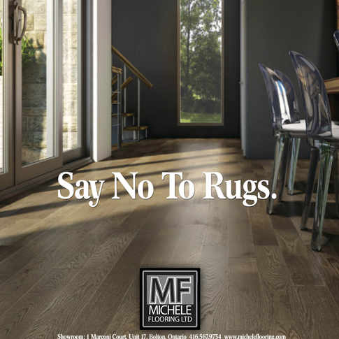 MICHELE FLOORING PRINT CAMPAIGN