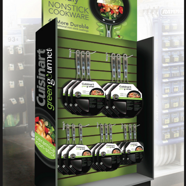 CUISINART END AISLE PACKAGE DISPLAY
