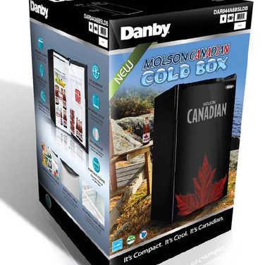 package design for MOLSON fridge