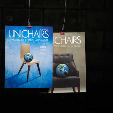 UNICHAIRS VOLUME 2 and VOLUME 3 CATALOGUES