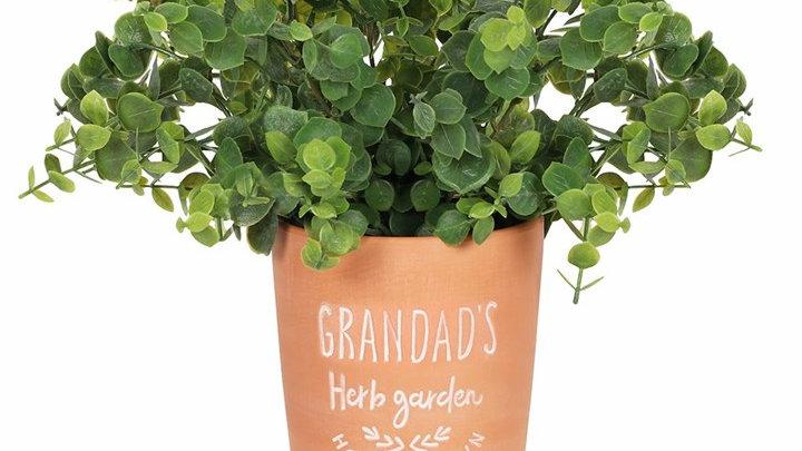 Grandads Garden Plant Pot