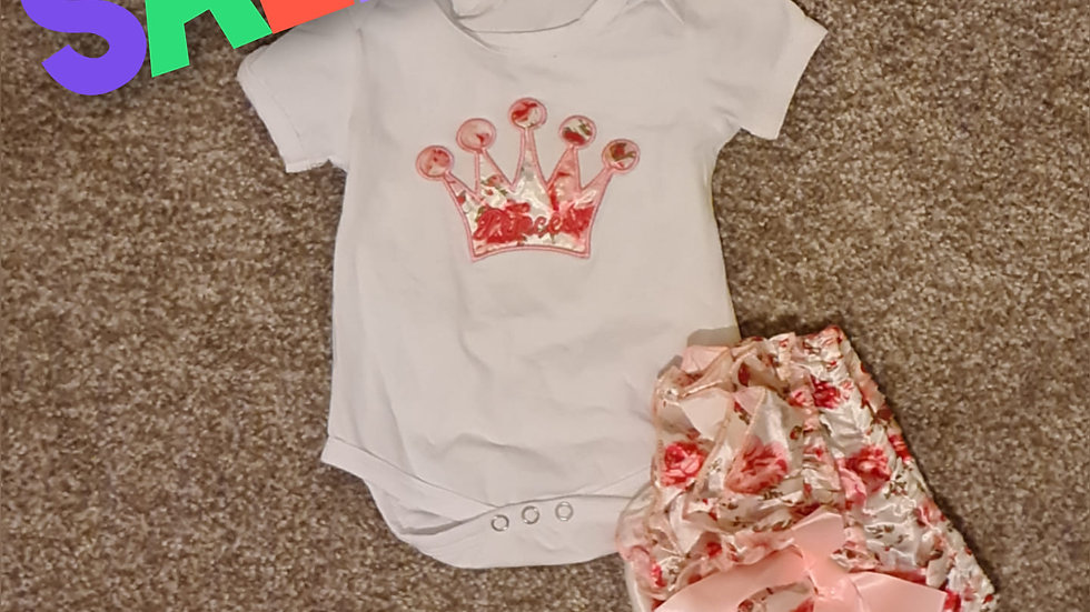 Princess Baby Grow