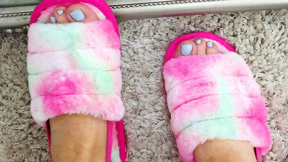 Glow Pink Sliders