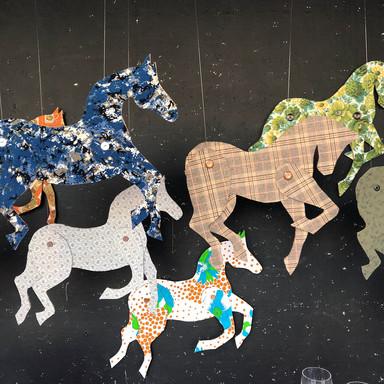 Vintage Horse Stampede