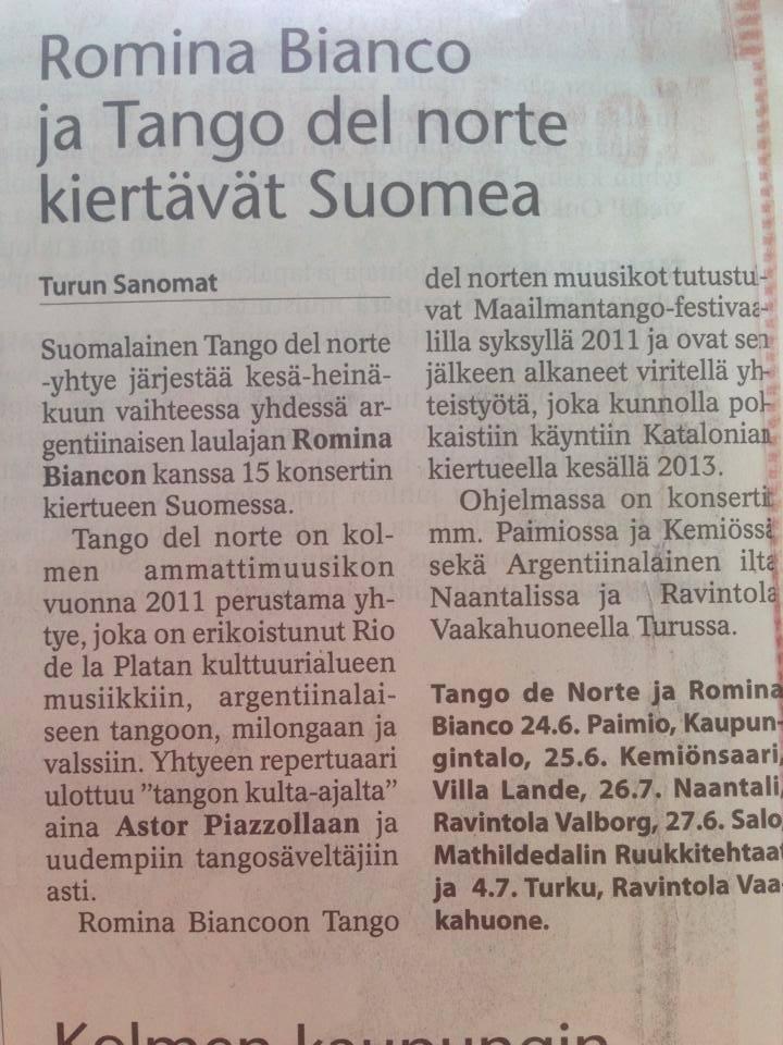 Turun Sanomat Newspaper
