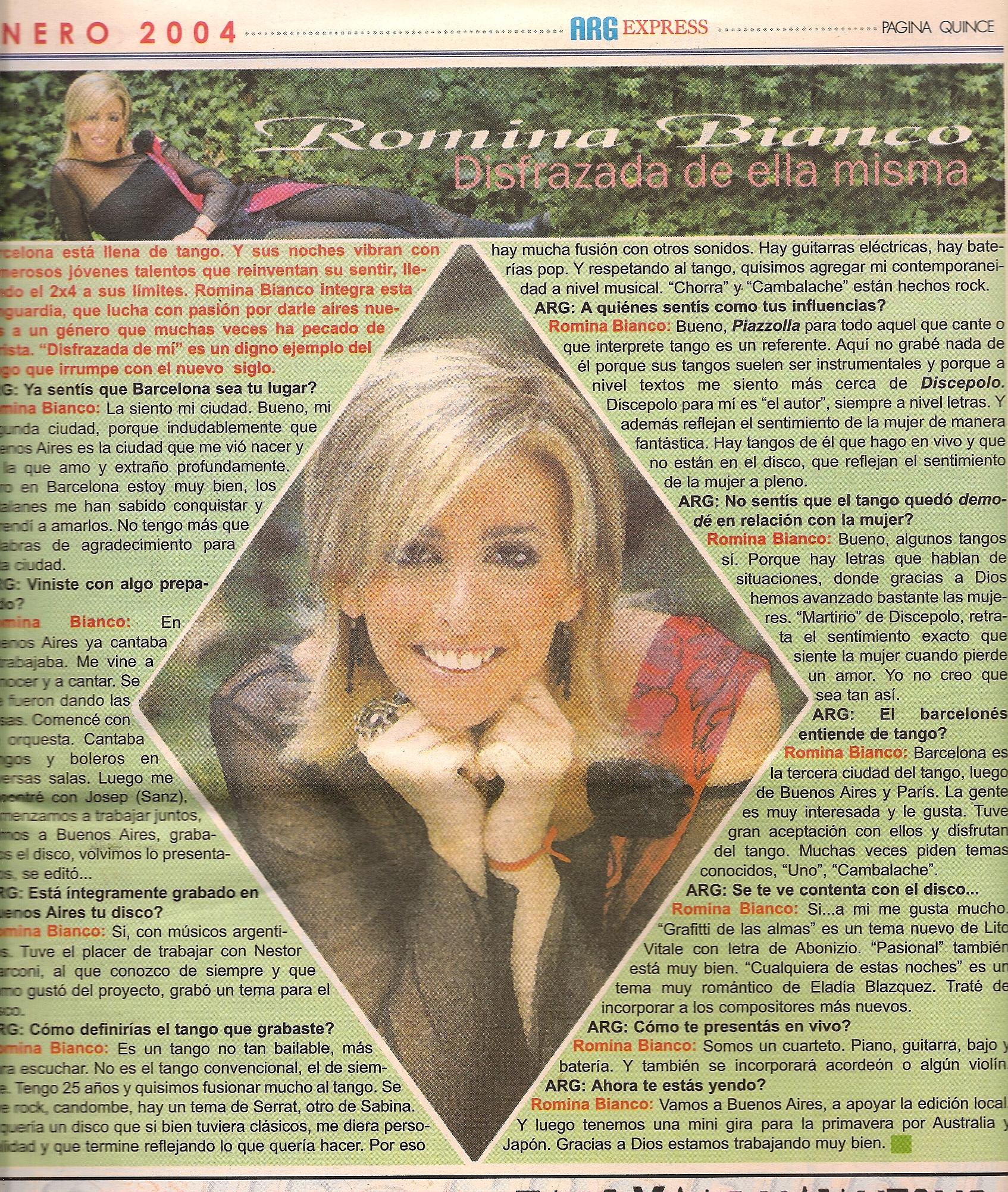 Argentina's Express Magazine