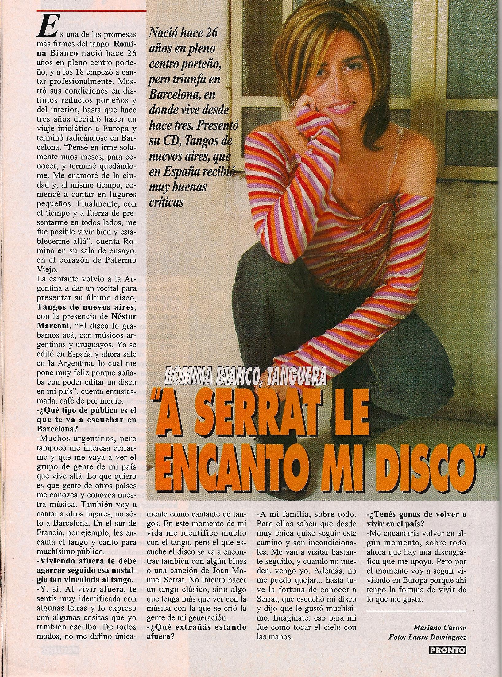 Argentina's Pronto Magazine