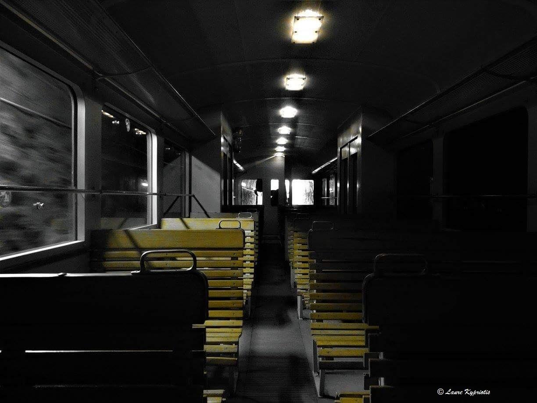 Gloomy train