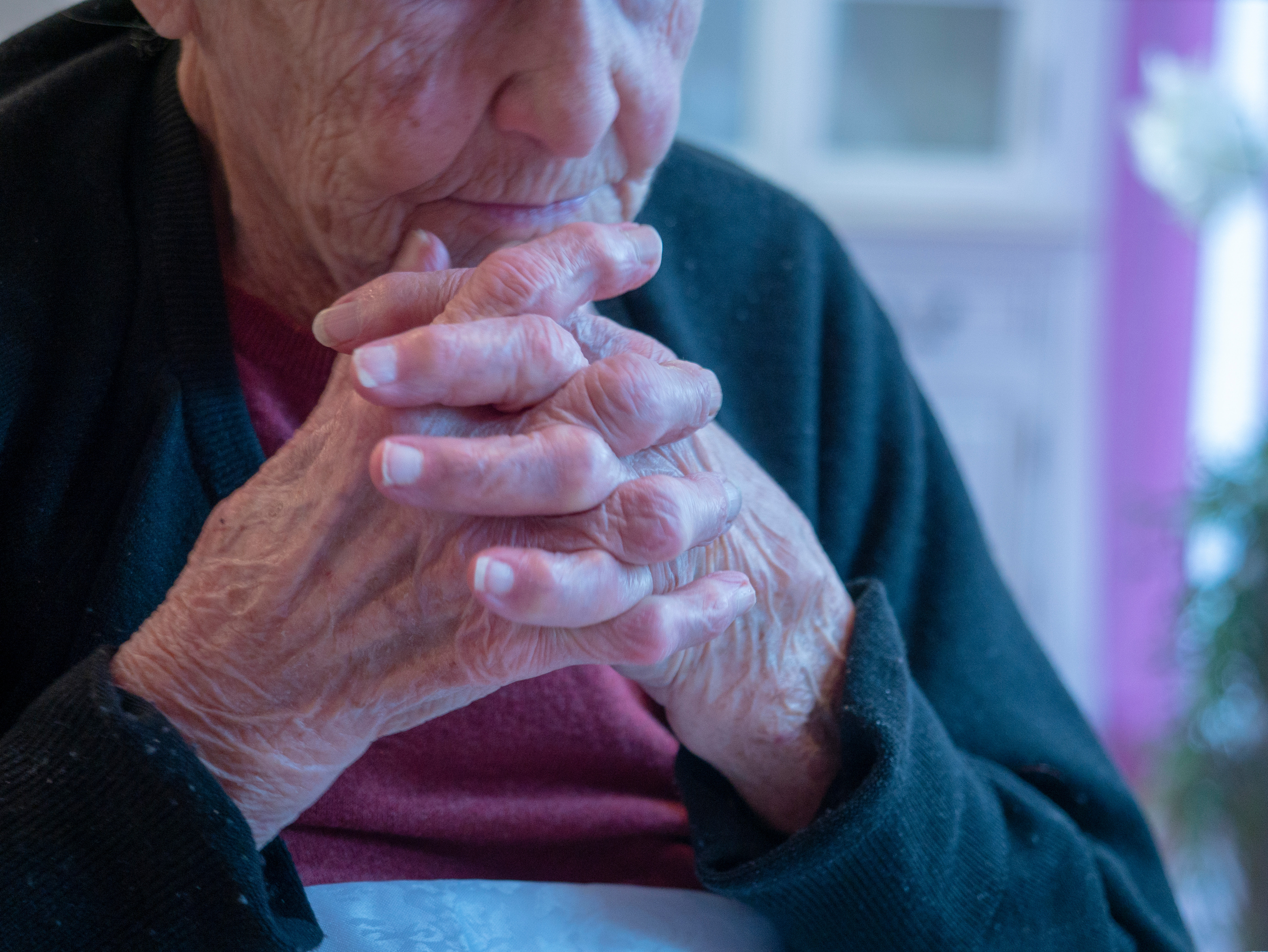 Relational touch for elders - 30min