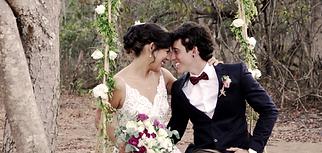Casamento ao ar livre noivos na roça